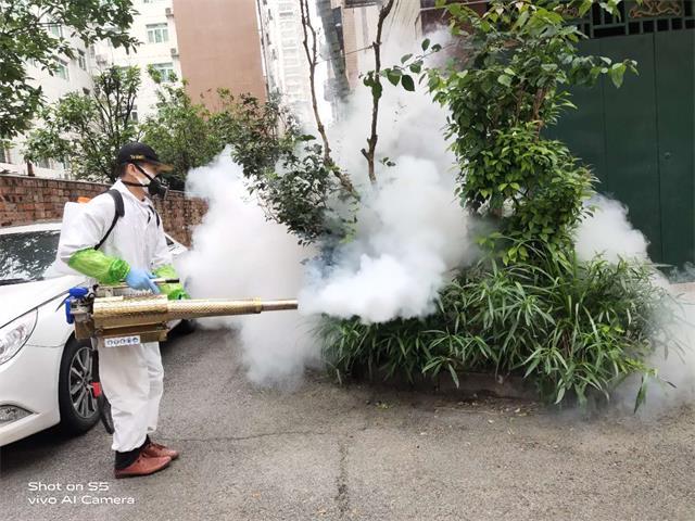 广西全诺清洁万博登陆地址有限公司-积极参与全市抗疫爱卫活动